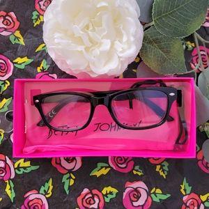 Betsey johnson blue light glasses +1.50